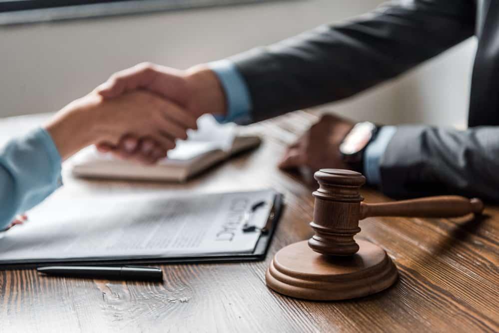 With Clients - Compensation Lawyer Brisbane
